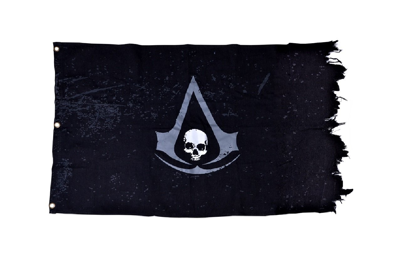 Amazon Com Assassins Creed Iv Black Flag The Official Flag Video Games