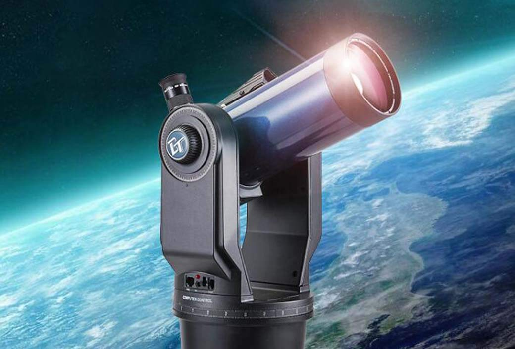 ZTYD Astronomical Telescope, Deep Space Automatic Stellar Telescope High-Definition Deep Space Observation Star Appreciation Month by ZTYD