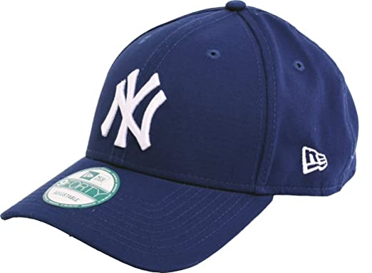 New Era MLB Basic NY Yankees 9FORTY Adjustable Light Royal Casquette Homme,  Bleu, FR 3e0bad6d6350