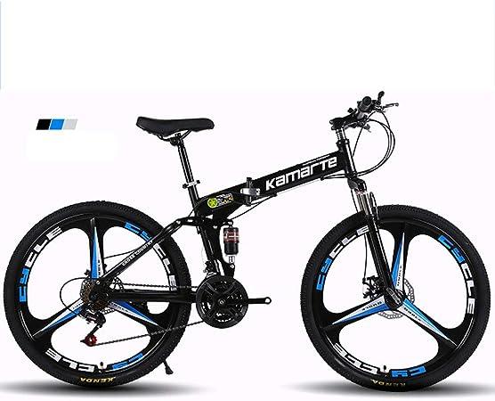 Bike Plegable Bicicleta de montaña Bicicleta amortiguación ...