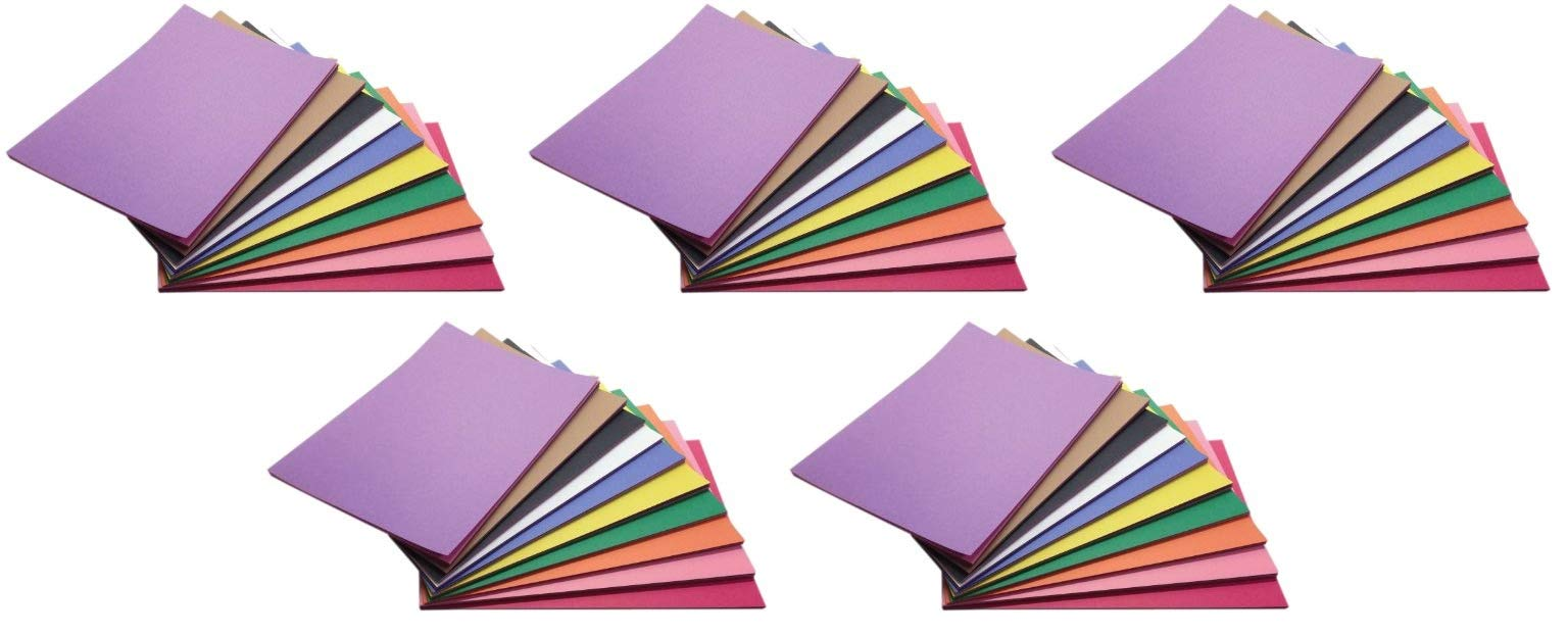 Childcraft Construction Paper, 9 x 12 Inches, Assorted Colors, 500 Sheets (Fіvе Расk)