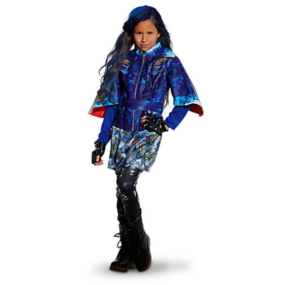 Disney Store Descendants Evie Costume for Girls ~ 9//10 Jacket, Leggings, and Gloves