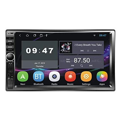 Amazon com: Everpert Car Stereo MP5 Player GPS Navi RDS AM FM Radio