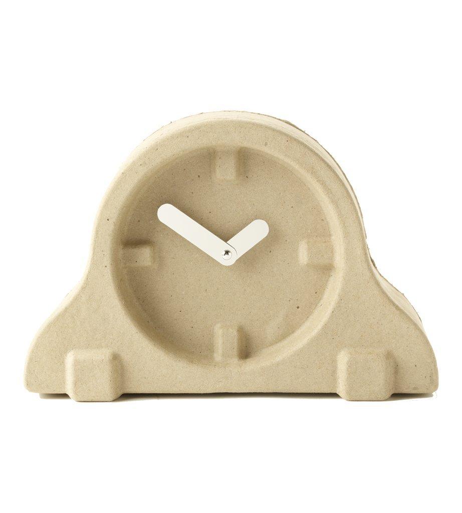 Invotis OR1004 Table Clock - Paper Pulp Clock