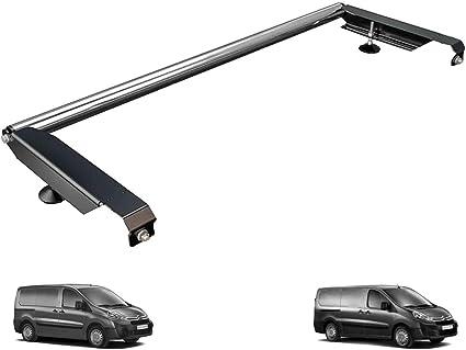 Van Guardia Ulti Bar escalera trasero de aluminio rodillo para Citroen Dispatch (07 – 16) [portón trasero]: Amazon.es: Coche y moto