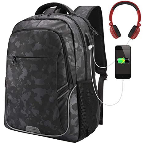 74d8a10d35 Amazon.com  Anti Theft Backpack with Laptop Compartment
