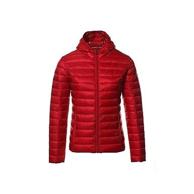 7177f4a8687 JOTT Doudounes Doudoune Cloe ML Capuche Rouge  Amazon.fr  Vêtements ...