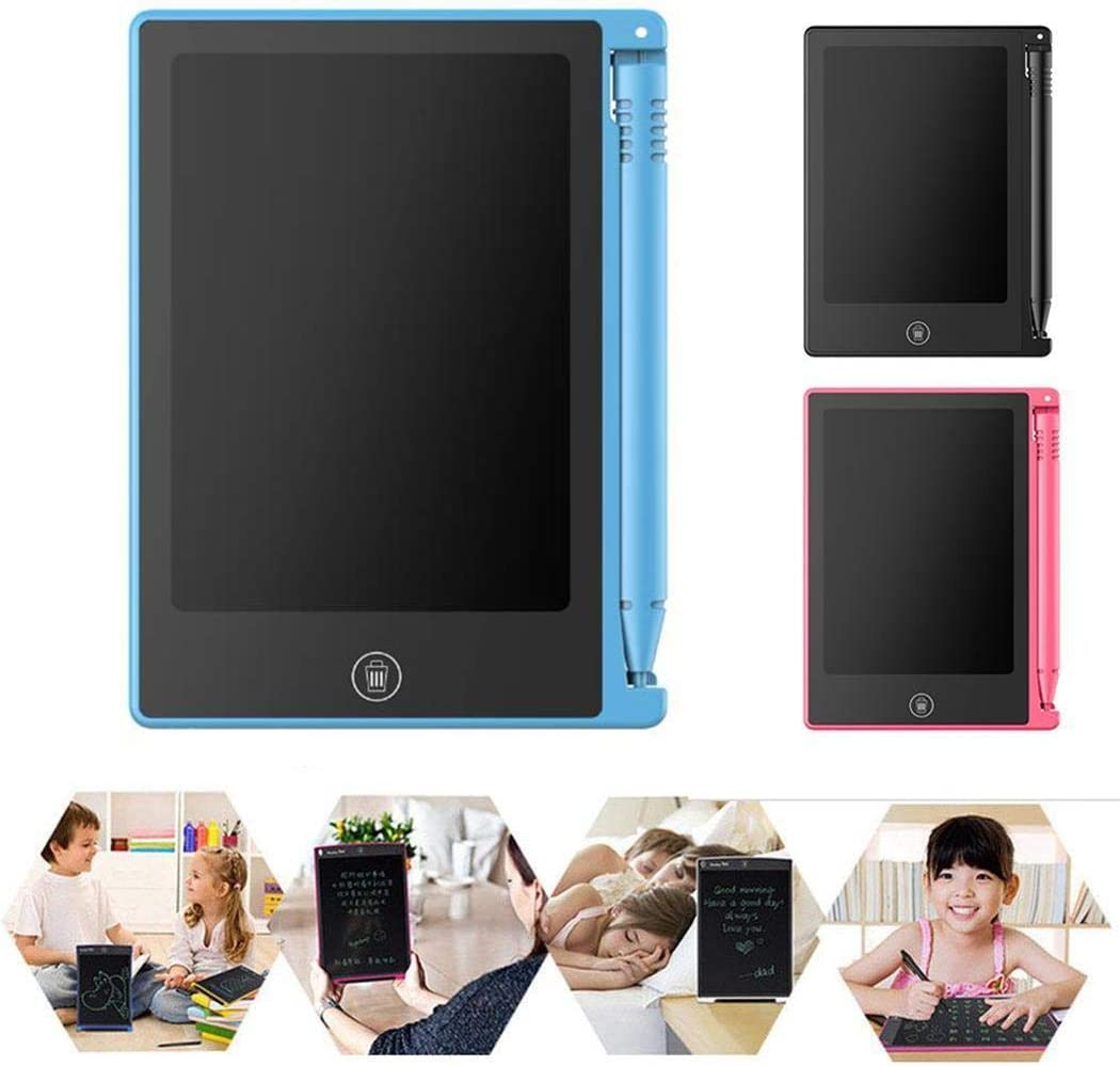 Trenlp 4.4inch Portable Practical Reusable LCD Writing Drawing Tablet Board Tablets
