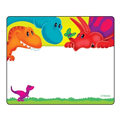 36 happy birthday name tag stickers school labels party trend