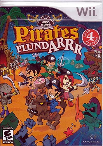 Pirates Plundarrr - Nintendo Wii (Scallywag Pirate)