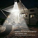 TechKen Solar Bulbs Lights Outdoor 2 Sets Soft