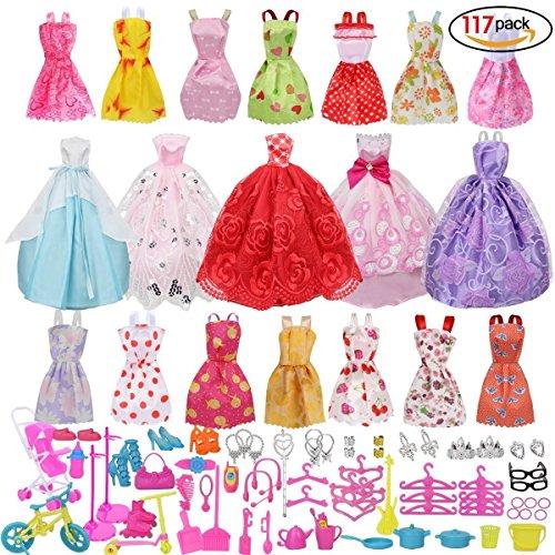 New Accesorios Muñecas Barbieaccesorios De Vestir Para Las