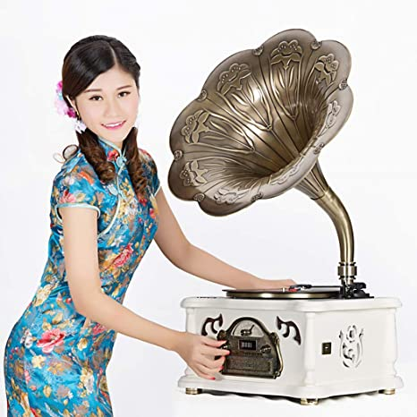 RAPLANC Reproductor de Discos de Vinilo Bluetooth con ...