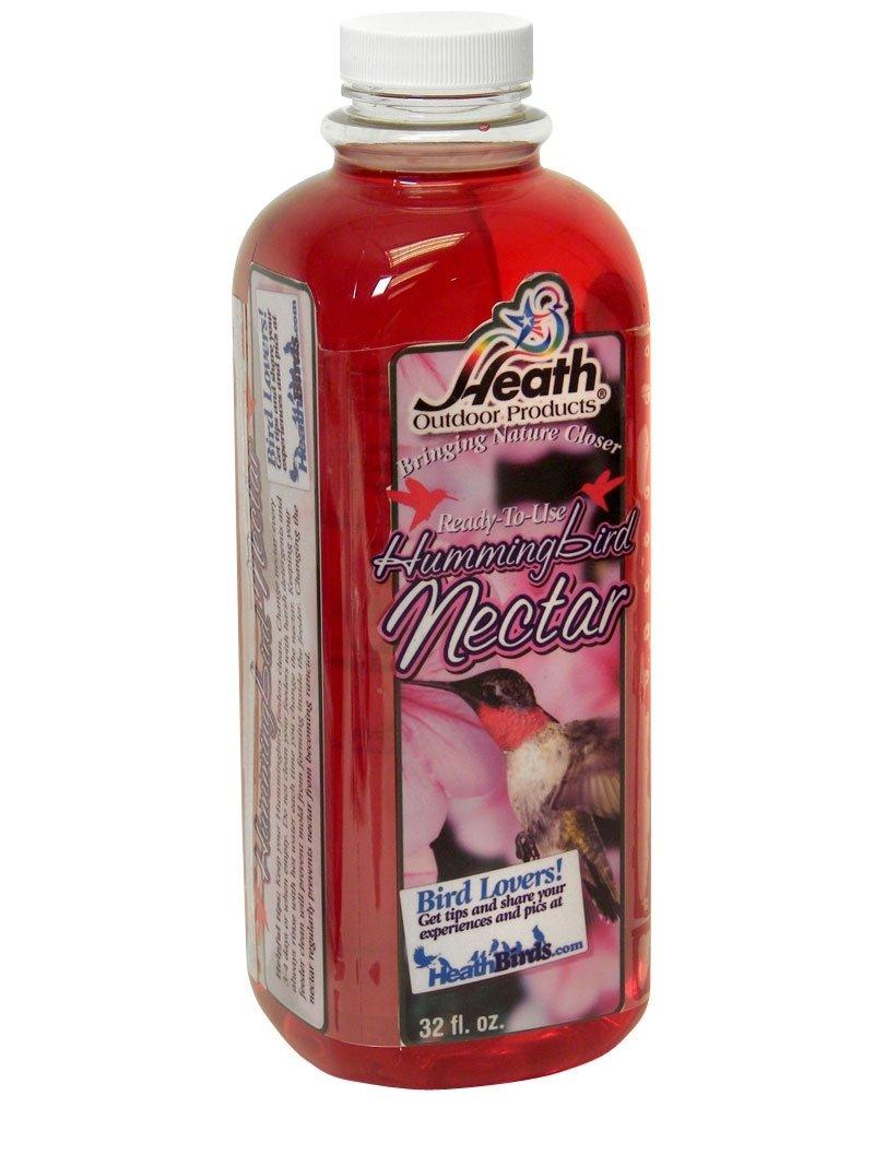 Heath Outdoor Products NECLR32R 32-Ounce Hummingbird Liquid Red Nectar, Case Of 12