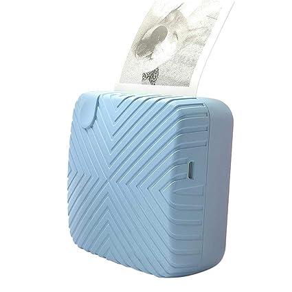 Impresora térmica portátil, recibo de impresora Bluetooth Etiqueta ...