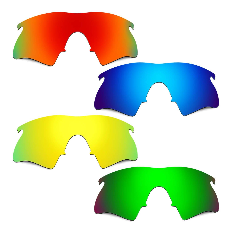 Hkuco 交換用レンズ Oakley M Frame Heater レッド/ブルー/ゴールデン/グリーン Sunglasses   B01MRSVZ82