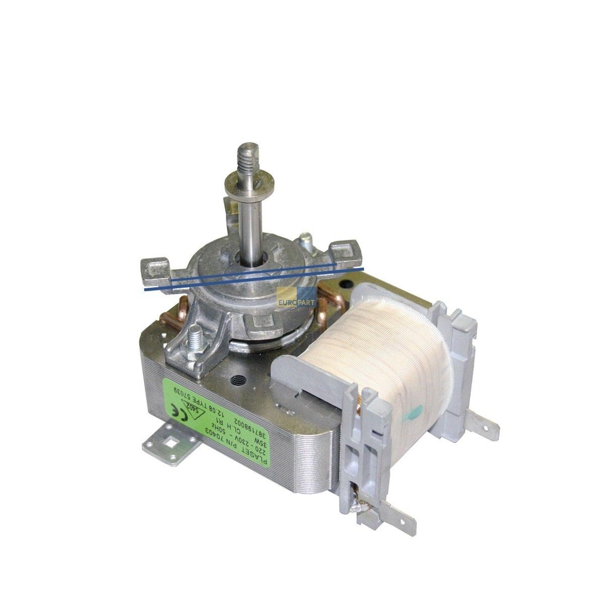 Heißluftherdventilator Ventilator Heißluft Backofen Herd Electrolux AEG 337067309 Electrolux/AEG