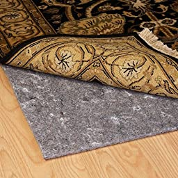 Duo-Lock Reversible Felt and Rubber Non-Slip Rug Pad, Size: 5\' x 8\' Rug Pad