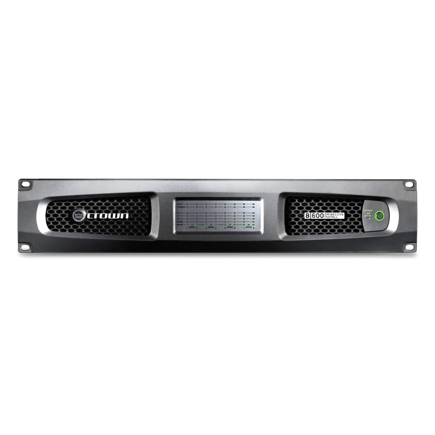 Crown DCi 8|600 | 8 Channel Analog Power Amplifier 600W by Crown