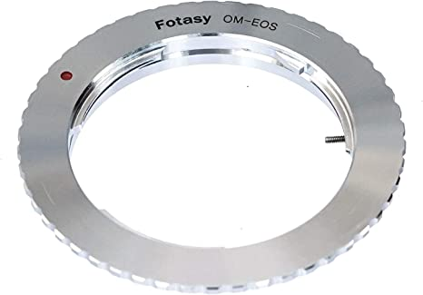 Adaptor. EF-S Lens Mount Adapter Ring Professional Olympus OM to Canon EOS EF