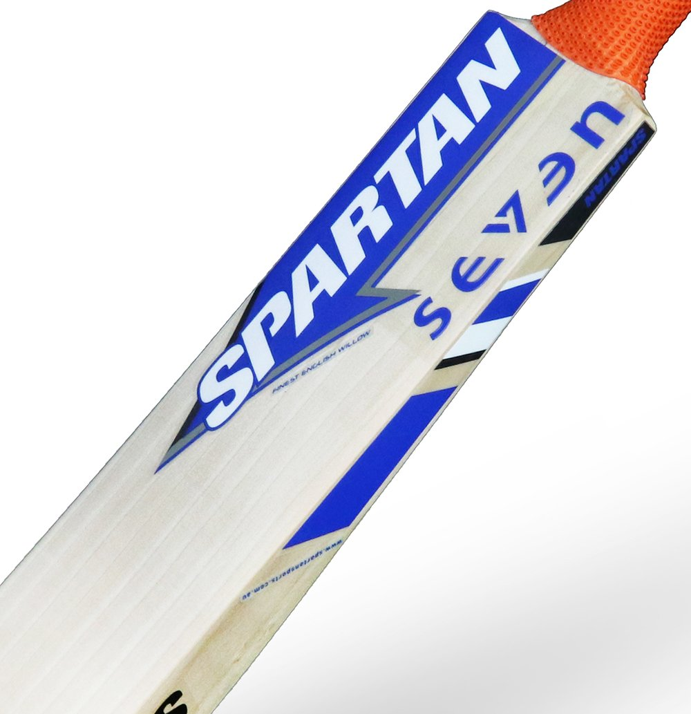 0ae7ec30f5ca SPARTAN MS Dhoni 7 English Willow Cricket Bat (SH): Amazon.in: Sports,  Fitness & Outdoors