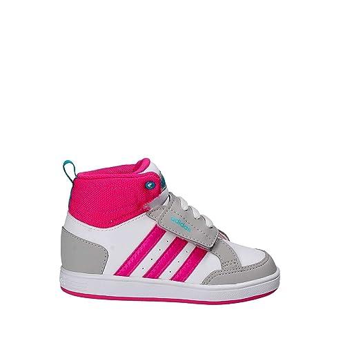 cheaper 5da8d 88580 Adidas CG5768 Bianco Dal 20 al 27 Sneakers Con Strappo Scarpe Bambina  Ginnastica  Amazon.it  Scarpe e borse