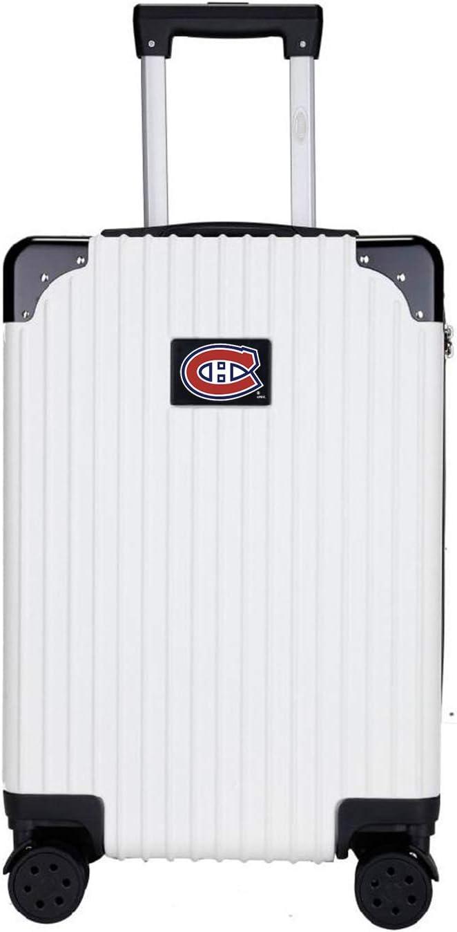 NHL Two-Tone Premium Carry-On Hardcase LuggageSpinner