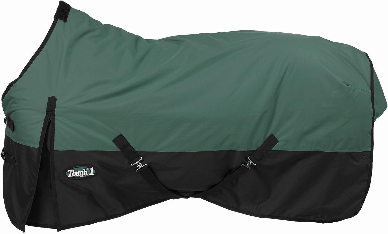 78-Inch Hunter Green Tough 1 600 Denier Waterproof Horse Sheet