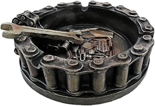 Things2Die4 Motorhead Motorcycle Ashtray Dented Box