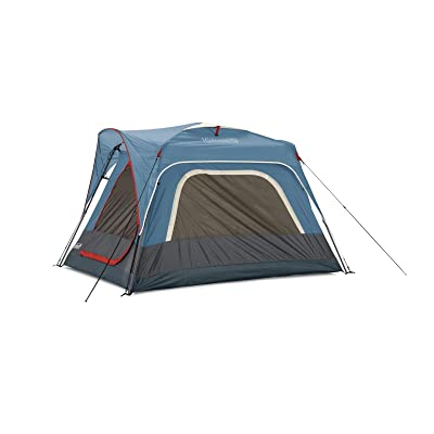 RT 8 Foot x 6 Foot of 3-Person Fast Pitch Blue Connectable Outdoor Tent: Garden & Outdoor