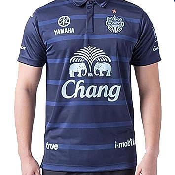 Buriram Unidos Jersey Azul Marino Jersey camiseta 2017 (TPL) tamaño XL (pecho 45
