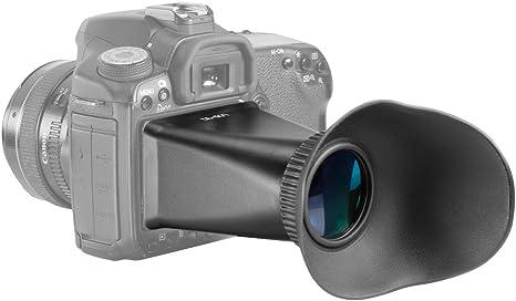 Neewer V2 2,8 x Lupa Visor de Pantalla LCD alargador de Cierre ...