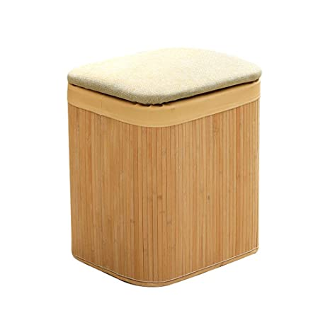 Superb Amazon Com Solid Wood Rectangular Footstool Ottoman Seat Caraccident5 Cool Chair Designs And Ideas Caraccident5Info