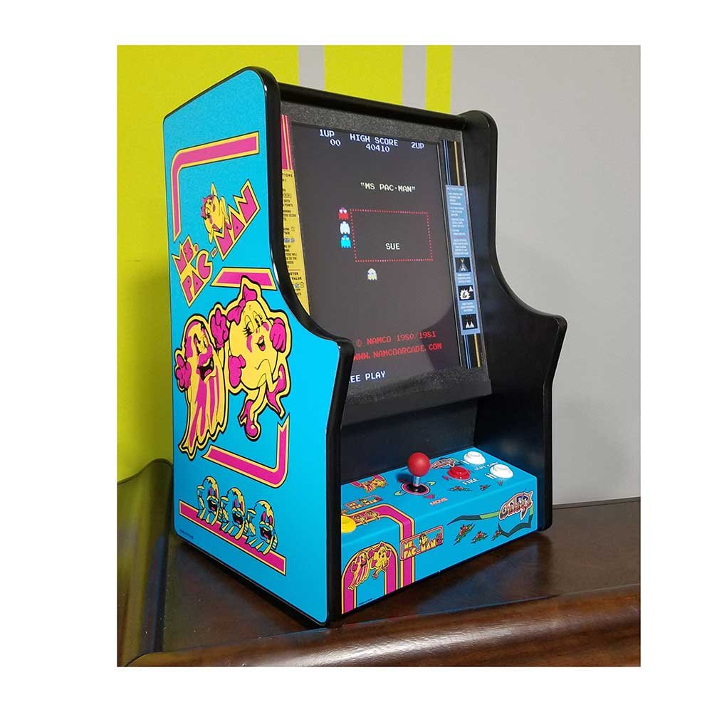 Ms Pac-Man and Galaga Home Bar Top Game