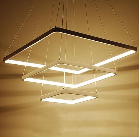 Amazon.com: LUCKY CLOVER-A 3 Rings Ceiling Light Pendant ...