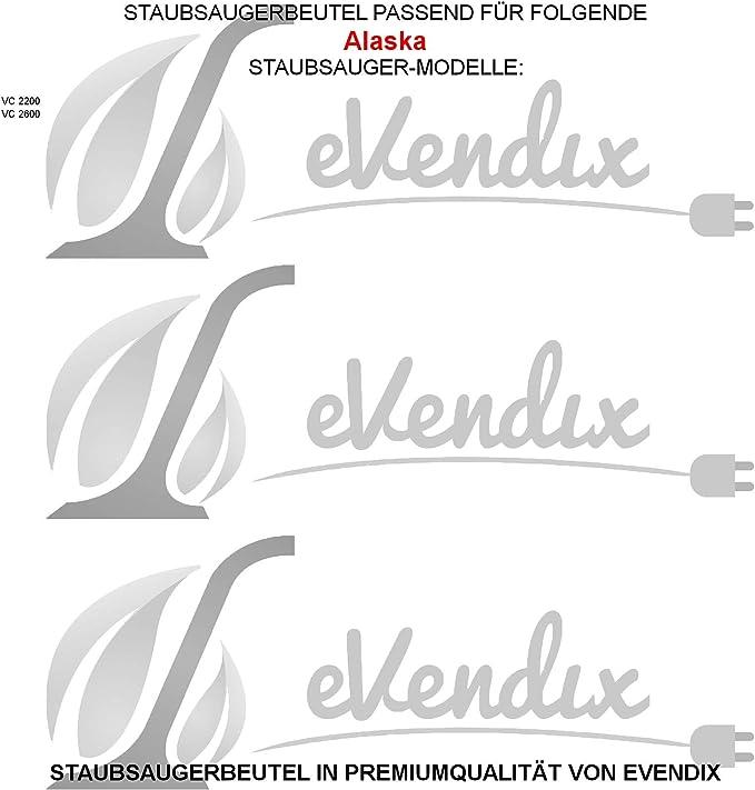 5 x VCB005 sacs aspirateur pour alaska 2000 BS1400 VC1600 hoover uk