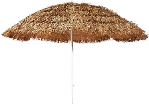 Ombrelloni In Paglia Da Giardino.Joy Summer Ombrellone Paglia Mare Spiaggia Tropicale Hawaii In Rafia Sintetica 200 Cm Amazon It Giardino E Giardinaggio