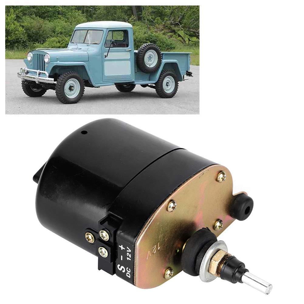 Parabrisas Limpiaparabrisas Motor parabrisas del coche 12V autom/ático del parabrisas del limpiador de motor en forma for el Jeep Willys Tractor 01287358 7731000001