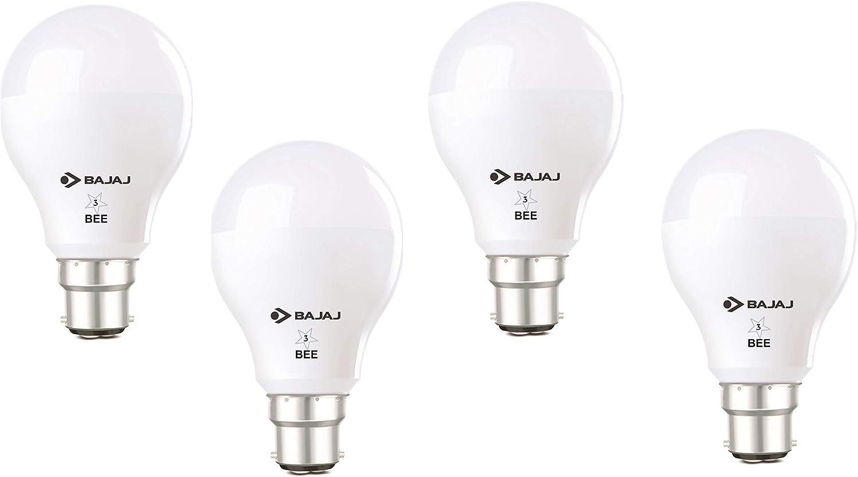 Bajaj iLED Bulb 8W CDL B22 (Pack of 4)
