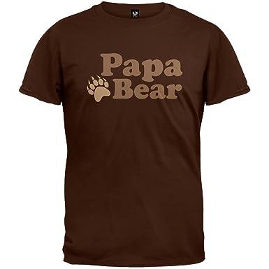 cd1b607f7d Amazon.com  Papa Bear Father s Day T-Shirt  Clothing