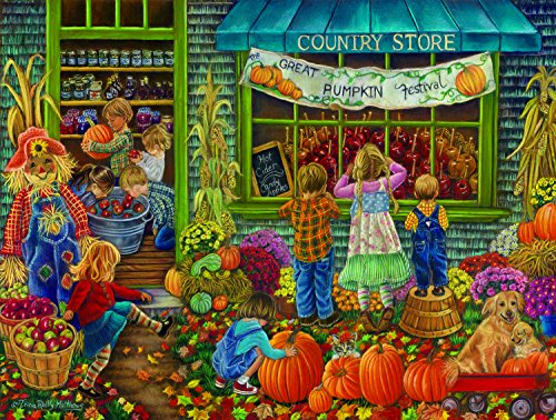 Pumpkin Festival 300 Piece Jigsaw Puzzle by SunsOut