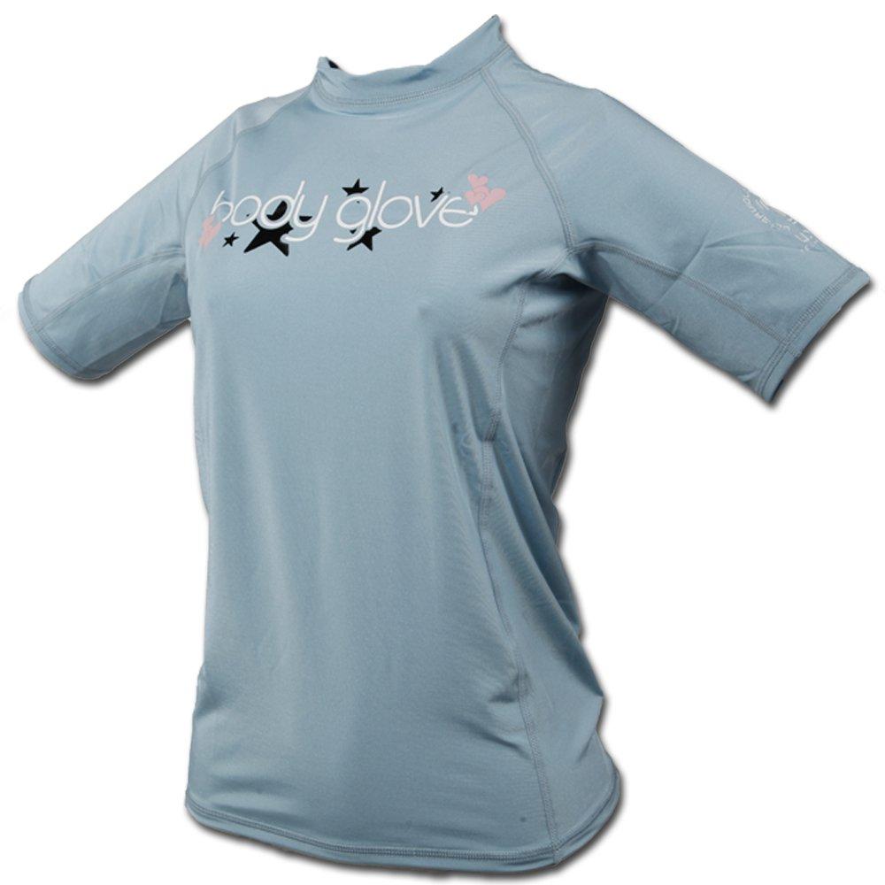ボディグローブ – 基本的なデラックスJunior 'sショートスリーブラッシュガード – swimwear- UVP 50 – with風Burn保護 10/4x ネイビー B01NAYTYES