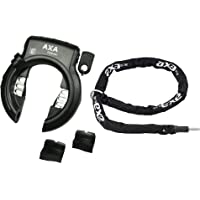 Unbekannt AXA Defender 140 - Candado para bicicleta con cadena, color negro mate