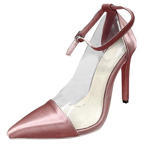 Keilabsatz Damen Schnürer Plateauschuhe Lackleder Stickerei Strass Ankle boots