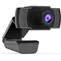 Webcam Full HD 1080P FRIEET Web Camera with Noise Reduction Microphone Widescreen Flexible USB Computer Camera for PC Mac Laptop Desktop Video Calling Conferencing Gaming Recording You Tube Facebook