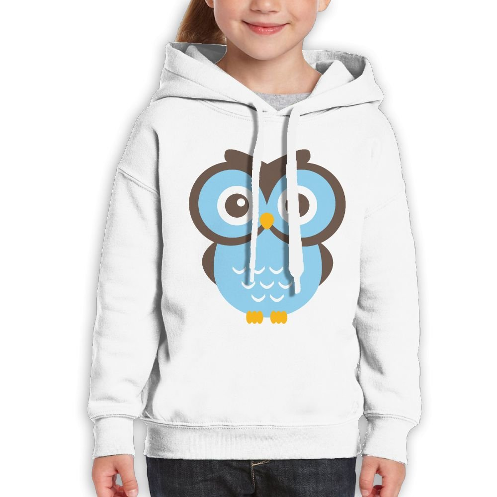Bdna Teenager Pullover Hoodie Sweatshirt Glasses Owl Teen's Hooded For Boys Girls