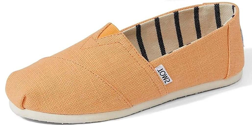 85ac7144808 TOMS Classic Orange Mist Heritage Canvas Womens Espadrilles Shoes   Amazon.co.uk  Shoes   Bags