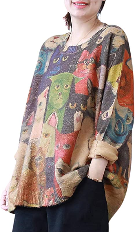 crazy cat lady edgy cool sweater cardigan