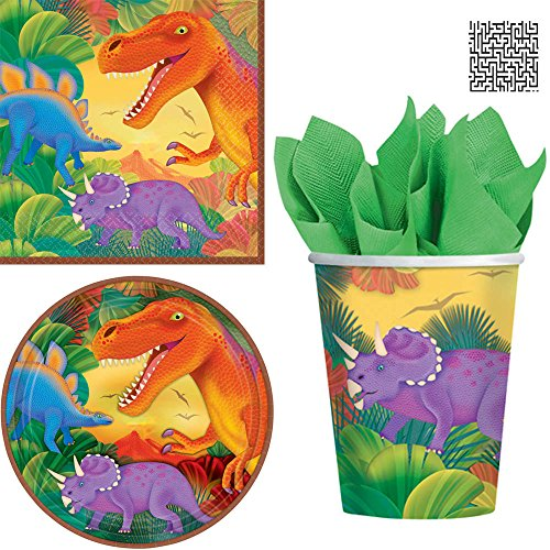 16 ct. Prehistoric Dinosaurs Lunch Napkins, 8 ct. 9