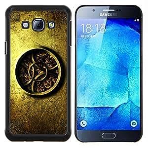 """For Samsung Galaxy A8 ( A8000 ) , S-type Detalladas Mecánica Reloj Reloj"""" - Arte & diseño plástico duro Fundas Cover Cubre Hard Case Cover"""